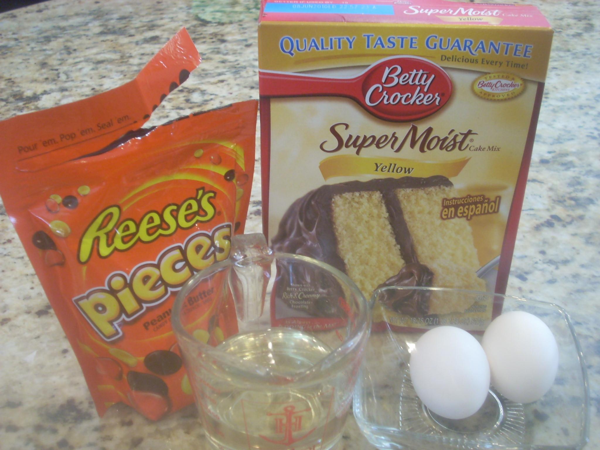Make cake mix recipes